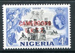 Cameroon - Nigeria Pictorials Overprints - 4d Cocoa HM (SG T6) - Cameroon (1960-...)