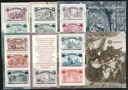 Portugal  CEPT 1992 Yvertn° Bloc 85-90 *** MNH Cote 42,00 Euro Europa Christophe Colomb Columbus - Blocs-feuillets