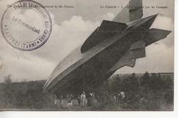Le Zeppelin Capturé Par Les Français - Castres