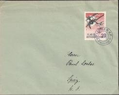 Vignette - Compagnie D'aviation 20 - Armée Suisse - Non Classés
