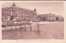 CPA  - 212. CANNES  - Carlton Hôtel Et Esplanade Des Alliés - Cannes