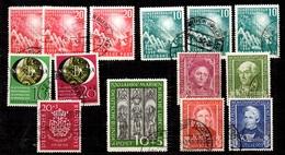 Allemagne/RFA Petite Collection De Bonnes Valeurs Oblitérées 1949/1951. B/TB. A Saisir! - [7] République Fédérale