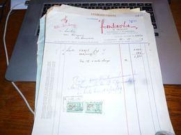 FF5 Document Commercial   Facture  Lustrerie Fantasia Mollet Blankenberge - Belgique