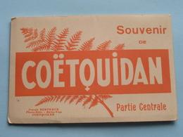 Souvenir De COËTQUIDAN Carnet Avec 8 CP ( Berthaux ) Anno 19?? ( Voir Photo ) ! - Bretagne