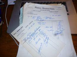 FF5 Document Commercial   Facture  Baudart Patte Frasnes Lez Gosselies Articles En Cuivre - Belgique