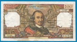 France 100 Francs Corneille  A.4-2-1965 A - Bon Etat - 2 Scans - 1962-1997 ''Francs''