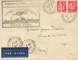 Poste Aérienne - Istres - Lyon - 1937 - Timbres