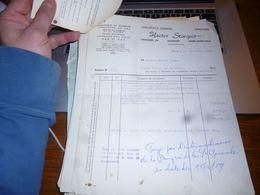 FF5 Document Commercial   Facture  Hector Starquit Haine Saint Paul - Belgique