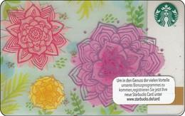 Germany  Starbucks Card Springtime Flower 6118 - Gift Cards