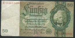 Bankntes,Banknote, Germany,50 Mark,Reichsmark,1933 Year C.14655088  - LAURA 4102 - [ 4] 1933-1945: Derde Rijk
