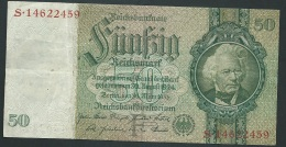 Bankntes,Banknote, Germany,50 Mark,Reichsmark,1933 Year S.14622459 - LAURA 4104 - 50 Reichsmark