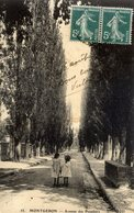 91 MONTGERON - Avenue Des Peupliers - Animée - ELD N° 55 - Montgeron