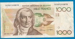 BELGIE - 1000 FRANK GRETY  - 2 SCANS - GOEDE STAAT - [ 2] 1831-... : Belgian Kingdom