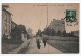 HADRICOURT (78) - LA RUE CHANTEREINE - Hardricourt