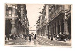 ITALIE . GENOVA . VIA XX SETTEMBRE - Réf. N°8345 - - Genova (Genua)