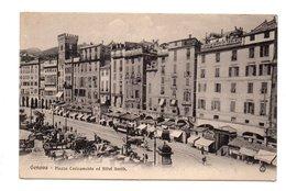 ITALIE . GENOVA . PIAZZA CARICAMENTO ED HÔTEL SMITH - Réf. N°8347 - - Genova (Genoa)