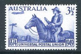Australia 1949 KGVI 75th Anniversary Of Universal Postal Union UPU MNH (SG 232) - 1937-52 George VI