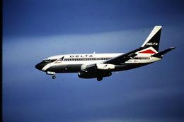 DIAPOSITIVA  SLIDE  AEREO BOEING 737  DELTA - Diapositives (slides)