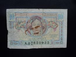 FRANCE : émission Pour Les Territoires Occupés : 10 FRANCS  ND 1947  P M7a / VF 30.1   AB - Treasury