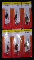 LOT DE 6 CUILLERES . - Fishing