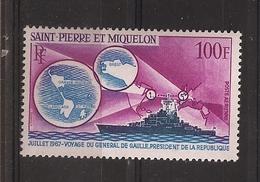 SPM / PA N°39 NEUFS** - Poste Aérienne