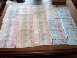Roumanie 82 Billets état Très Moyen Et Usagés (PRIX DE DEPART MINUS) - Coins & Banknotes