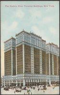 Hudson River Terminal Buildings, New York, C.1905-10 - Success Postal Card Co Postcard - Manhattan