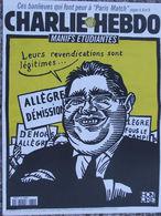 CHARLIE HEBDO N°330 (14/10/1998) Couverture Honoré - Allègre - Livres, BD, Revues