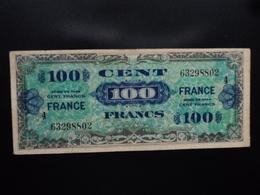 FRANCE : Impression Américaine : 100 FRANCS  Série De 1944 (4 Juin 1945)  Série 4  P 123c / VF 25.4    TTB * - Trésor