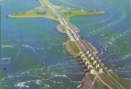 Den Oever , Wierringen - Waterspuien **AK-90825** - Den Oever (& Afsluitdijk)
