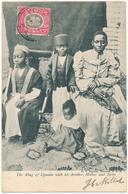 OUGANDA - The King Of Uganda With His Brother, Mother And Sister - D.V. Figueira, Mombasa - Uganda