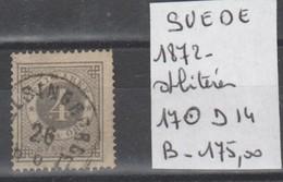 TIMBRES EN LOTS  DE SUEDE  OBLITEREES Nr 17 D- 14   COTE 175€ - Oblitérés
