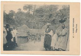GUINEA BISSAU - Village Foula - Guinea-Bissau