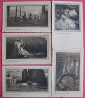 LOT 5 ART POSTCARDS, ITALIAN EDITION, NOT USED - Cartes Postales