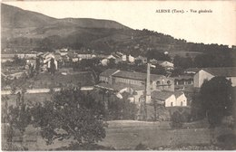 FR81 ALBINE - Vue Générale - Usine Textile GALIBERT - Cheminée - Belle - Francia