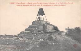 70 - Morey - Signal Ste-Marguerite - Poste De Télégraphe Sans Fil - Point Culminant De La Roche - ( Alt.451 M ) - France