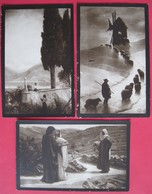 LOT 3 ART POSTCARDS, ITALIAN EDITION, NOT USED - Postcards