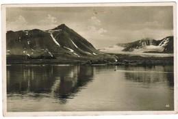 Old Postcard, Svalbard Spitzbergen, Kongsfjord, Königsbucht (pk44084) - Norvège