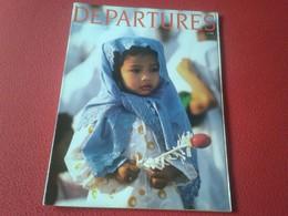REVISTA MAGAZINE DEPARTURES SEPTEMBER OCTOBER 1987 BARCELONA....VIVA CATALONIA...CATALUNYA BUGATTI..VER FOTO/S Y DESCRIP - Revistas & Periódicos