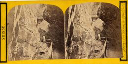Schweiz, Ragaz, Gorge De Bains De Pfaeffers - Stereoskope - Stereobetrachter