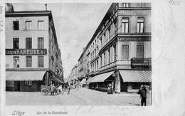 Liège : Rue De La Cathédrale + Maison Haneuse - Luik