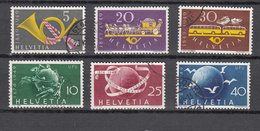 1949   N° 291 à 296   OBLITERES        CATALOGUE ZUMSTEIN - Suisse