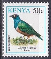 Kenia Kenya 1993 Tiere Fauna Animals Vögel Birds Oiseaux Pajaro Uccelli Stare Starling, Mi. 573 ** - Kenia (1963-...)
