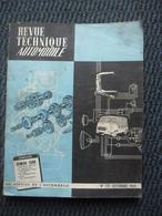 Revue Technique Automobile SIMCA 1500 N°221 Septembre 1964 - Auto/Moto