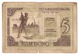 North Vietnam 5 Dong 1946 - Vietnam