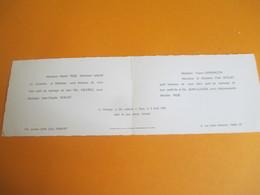 Mariage / Michéle PEDE - Jean-Claude DOLLET/Av Emile ZOLA , Rue Henri MONNIER/ PARIS/1961         FPM41 - Wedding
