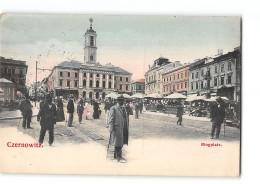 CPA Czernowitz Tchernivtsi Ringplatz - Ukraine