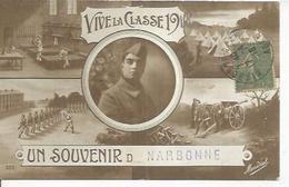 323 - UN SOUVENIR D..... NARBONNE - VIVE LA CLASSE 1918 - Narbonne