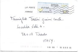 FRA099- FRANCIA - LETTERA DA BAGNOLET A TRENTO 16.01.13 - MECCANICO - Francia