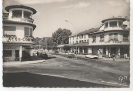 40 DAX  L AVENUE  DE  THERMES  ET L HOTEL  GRACIET  +CITROENDS     CPSM  TBE  V441 - Dax